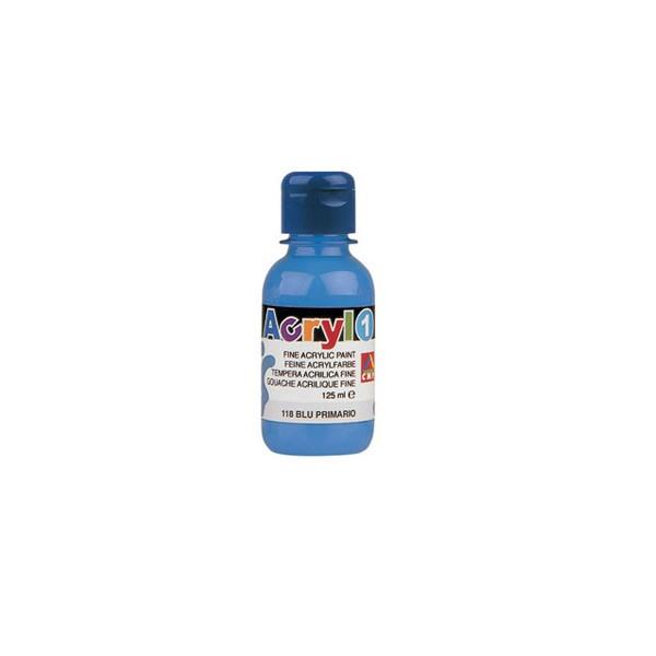 Boja tempera akrilna 125ml CMP 501 plava cyan