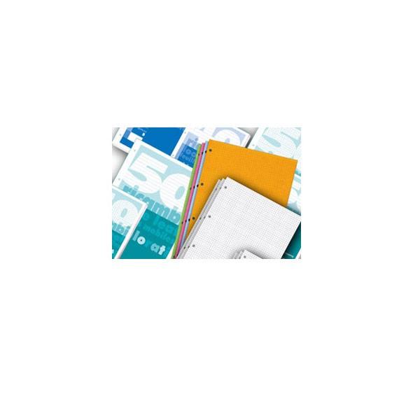 Blok za mapu uložnu 4 rupe A4, 50 listova, bijeli