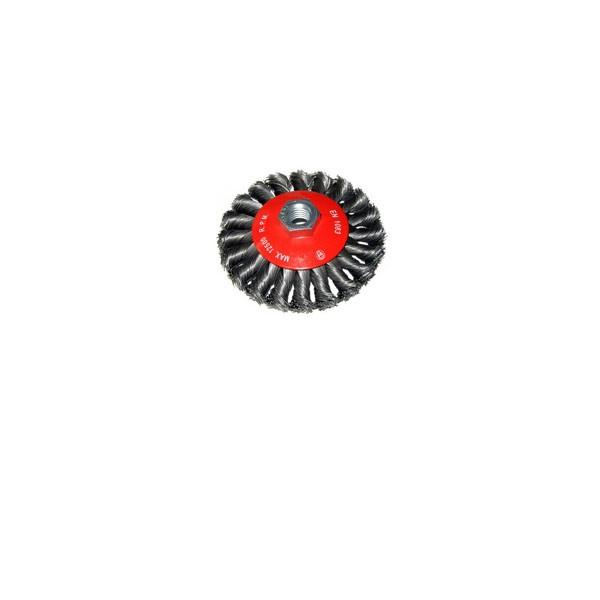 Četka 100x10mm pletena, žice debljine 0.5mm, M14