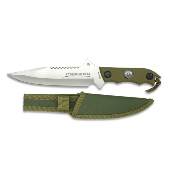 Nož + Kompas - 18 cm