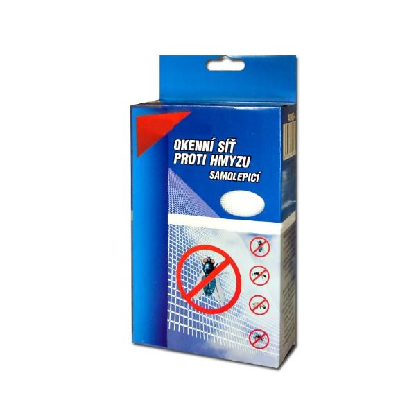 4055 - Mrežica za prozor protiv kukaca - Siva - 150x90
