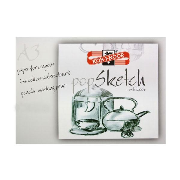 Blok za slikanje i crtanje  Koh-I-Noor A3, 30 araka, 180gsm,