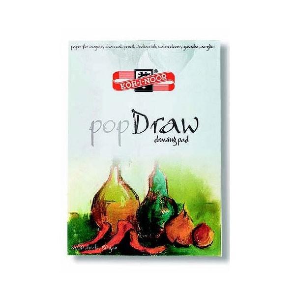 Blok za slikanje i crtanje KOH-I-NOOR A4, 30 araka, 180 gsm