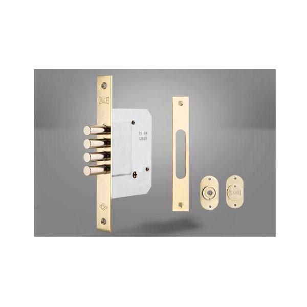 Sigurnosna brava za drvene i metalna vrata sa cilindrom, 52mm