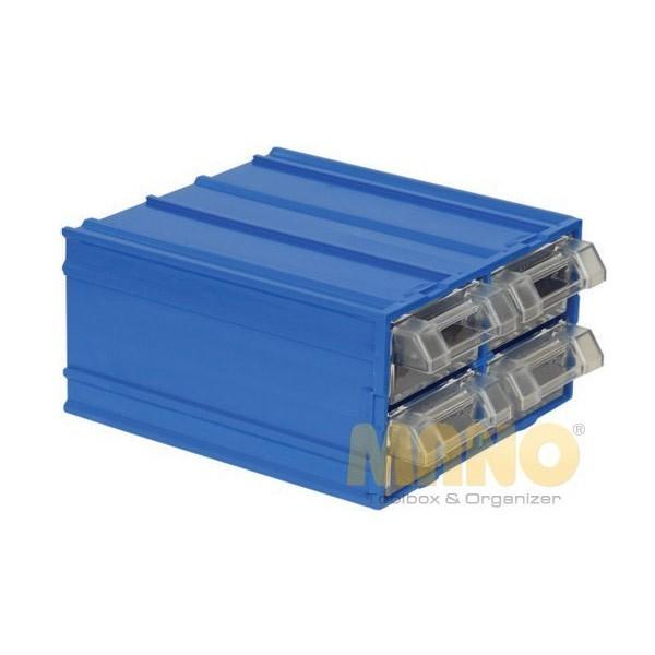 MK-32 - MANO - Kutija za alat - Plava - 4 ladice