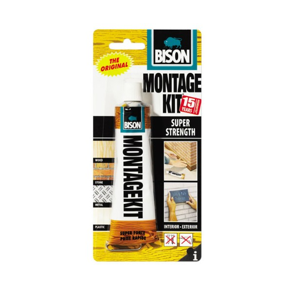 BISON - Montage Kit - Super strong / Universal