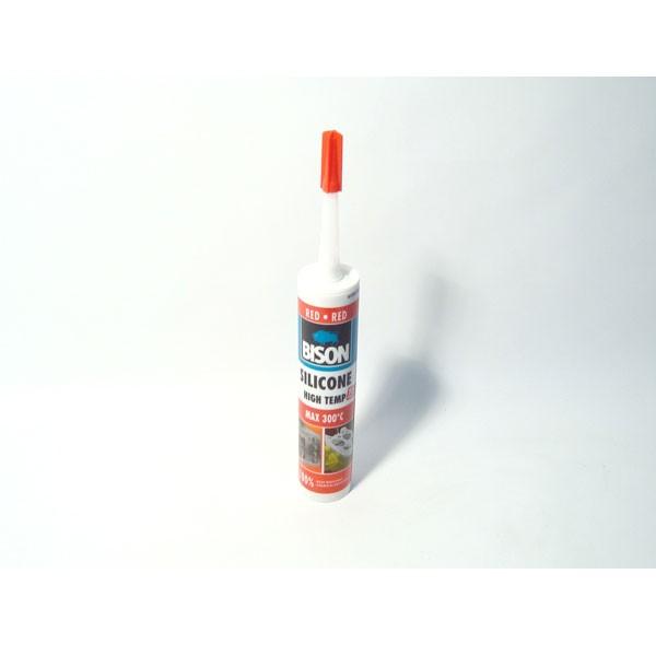 Bison, silikon za visoke temperature (300 stupnjeva) crvene boje
