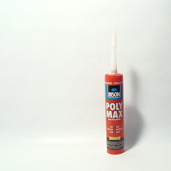 Bison poly max visokokvalitetno ljepilo 300ml. Transpar