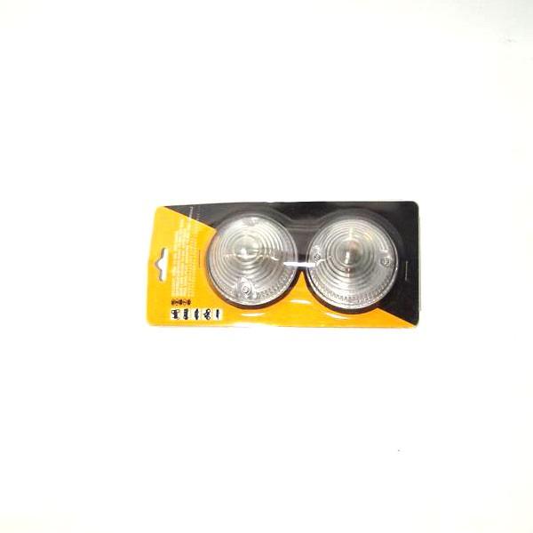 Bočna signalizacija za automobilsku prikolicu 70 mm bijela