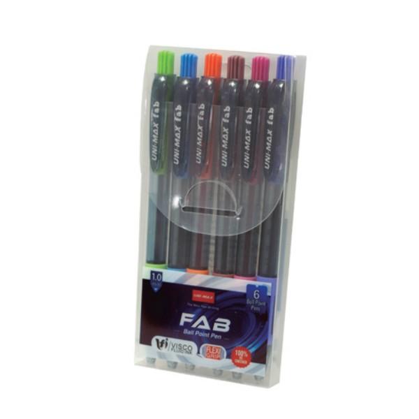 FAB - Kemijske olovke - 6 komada