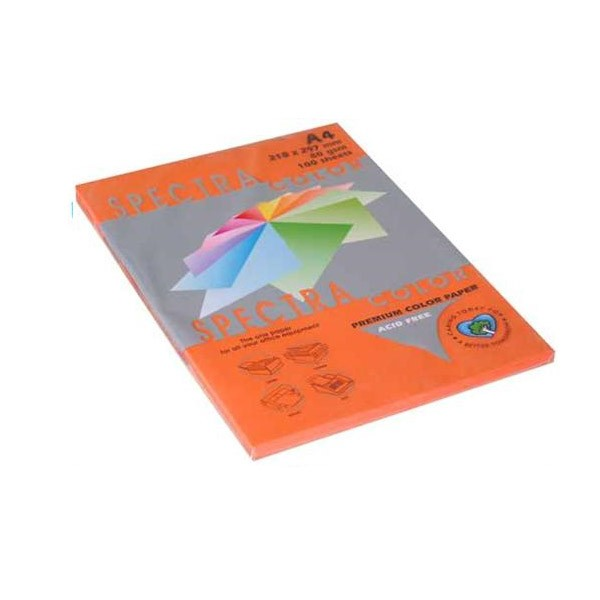 Papir fotok.SPECTRACOLOR A4 int.narančasti SAFFRON 80gr.100araka
