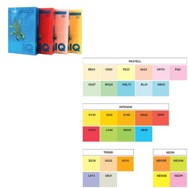 Papir Print IQ A4 mondi 80g/m2, 500 listova, PLAVI  BL29