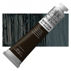 Winsor & Newton, Winton uljna boja Ivory Black, 200ml