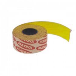 Etikete 26×16mm fluo Žuta