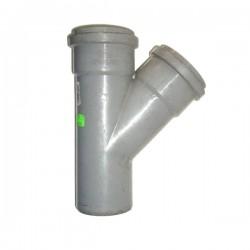 PVC RAČVA 75mm/75mm/45°