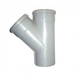 PVC RAČVA 110mm/75mm/45°
