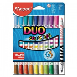 MAPED - Color'peps Duo - Flomasteri - 10/20