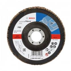 BOSCH - Brusna rezna ploča - X431 - P60 - 125 x 22,23 mm