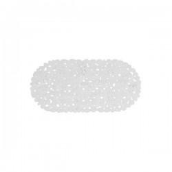Podloga za kadu 68x35cm bijela neklizajuća
