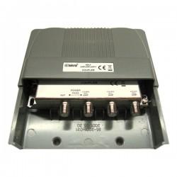 Skretnica za vanjsku/unutrašnju montažu, 3 x UHF 150x54x90 mm
