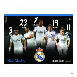 Blok za crtanje - Real Madrid - 20 listova