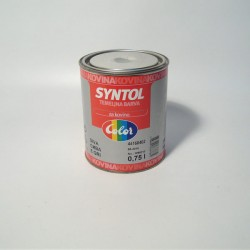 Syntol boja za metal crvena 0.75L