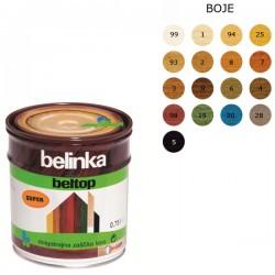 Belinka Beltop uv plus zaštita drva 0.75L boja 98, crvena