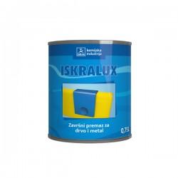 Iskralux - Emajl lak - Bezbojni - 0,75 L