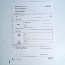 Prijava prebivališta, odjava prebivališta, prijava promjene adrese stanovanja, prijava boravišta