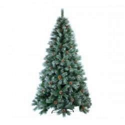 Gusto božićno drvce sa snijegom i češerima - 1,8 M