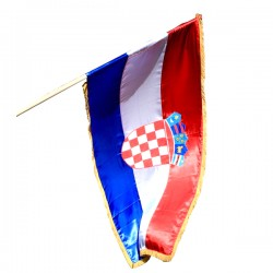 Službena Hrvatska svečana zastava 300x150cm