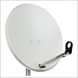 97 TRX - Satelitska antena 97cm, Triax leđa i pribor, boja svijetlo siva