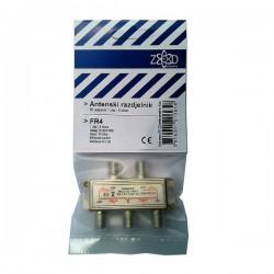 Antenski razdjelnik 1 ulaz - 4 izlaza, 5-2400MHz