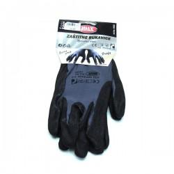 Zaštitne rukavice nitrilne crne profy V:10