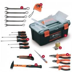 Set kutija za alat 39.5x23.5x18.5cm + set alata