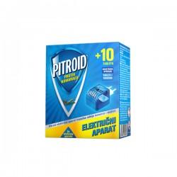 Pitroid električni aparat protiv komaraca +10 tableta