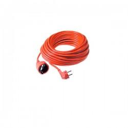 Produžni kabel s utikačem i natikačem šuko 16A, 250V~, H05VV-F 3G1,5 * PP/J-Y 3x1,5 - 3500 W 25m