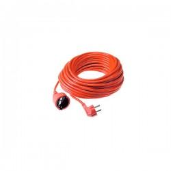 Produžni kabel s utikačem i natikačem 10A 15m