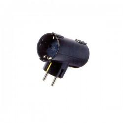 Dvostruki ''T'' razdjelnik 16 A 250 V ~, crni