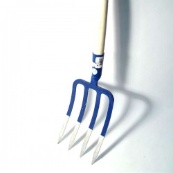 Vile 4 zuba za štihanje sa drškom
