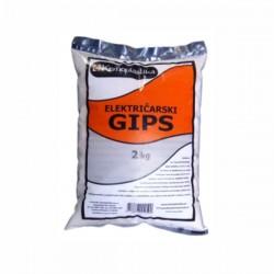 Električarski gips - 2kg - Kemoplastika