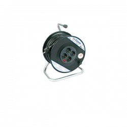 Kabel roleta na PVC bubnju, monofazna, 16A 250V~ 3500W 280mm,H05VV-F 3G2,5 25m