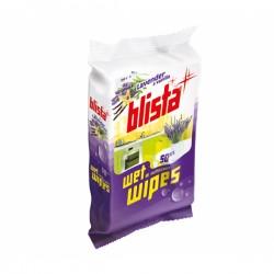 BLISTA - Vlažne maramice za dezinfekciju - Lavanda i vanilija - 50 kom