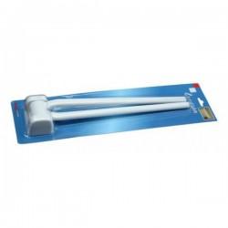 Držač ručnika duo 43x10x6.5cm PVC