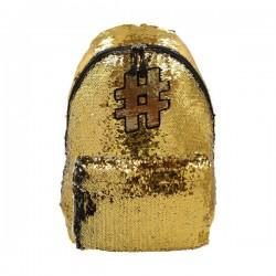 Školski ruksak - Hashtag - Gold