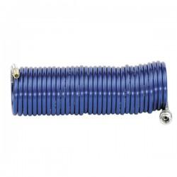 METABO - Spiralno crijevo za zračni alat - 6 x 8 mm / 7,5 M - 8 bar