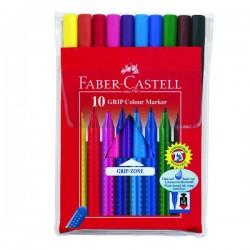 FABER-CASTELL - Flomasteri - Grip - 10