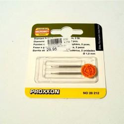 PROXXON BRUSNI ŠTIFT KUGLA 2 KOMADA, 1mm