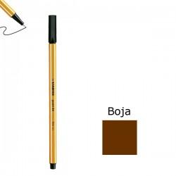 Flomaster STABILO point 88 debljine 0,4  smeđi