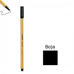 Flomaster STABILO point 88 debljine 0,4  crni